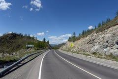 Passi Chike-Taman Tratto di Chuysky Montagna Altai Immagini Stock