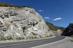 Passi Chike-Taman Tratto di Chuysky Montagna Altai Fotografie Stock