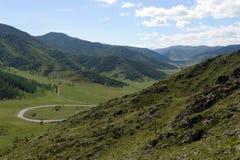 Passi Chike-Taman Tratto di Chuysky Montagna Altai Immagini Stock Libere da Diritti