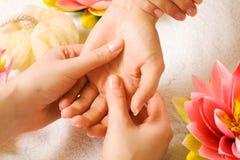 Passi il massaggio Fotografia Stock