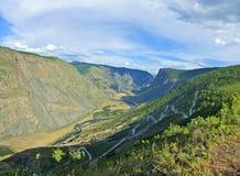 Passi Katu-Yaryk Altai, Siberia Immagine Stock