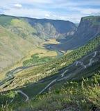 Passi Katu-Yaryk Altai, Siberia Fotografie Stock