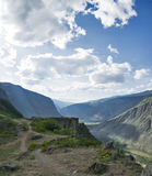 Passi Katu-Yaryk Altai, Siberia Fotografia Stock Libera da Diritti