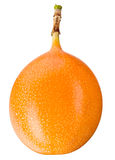 Passiflora. Pasyjna owoc odizolowywająca na bielu Fotografia Stock