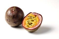 Passiflore comestible de passiflore de Maracuja Photographie stock