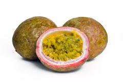 Passiflore comestible de passiflore, Maracuja, passion-fruit Images stock