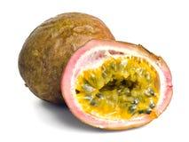 Passiflore comestible de passiflore, Maracuja, passion-fruit Photographie stock