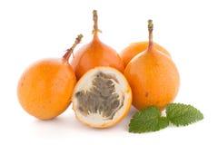 Passiflore de maracuja de passiflore comestible de passiflore Images stock