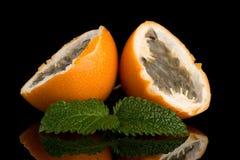 Passiflore de maracuja de passiflore comestible de passiflore Photos libres de droits