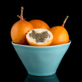 Passiflore de maracuja de passiflore comestible de passiflore Images libres de droits