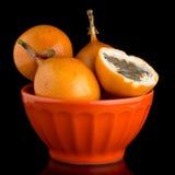 Passiflore de maracuja de passiflore comestible de passiflore Image stock
