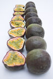 Passiflores comestibles de passiflore Photo libre de droits