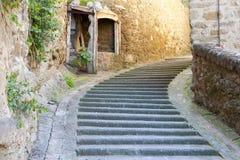 PASSIGNANO SUL TRASIMENO, UMBRÍA ITALIA imagen de archivo