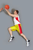 Passing the ball Royalty Free Stock Photography
