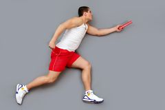 Passing the baton Royalty Free Stock Photography