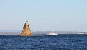 Passing Kotanui Island Royalty Free Stock Image