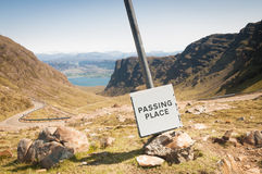 Passing Place Royalty Free Stock Images