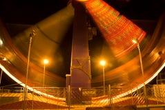 passing rollercoaster Στοκ Φωτογραφίες