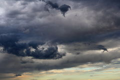 Passing storm clouds Royalty Free Stock Photography