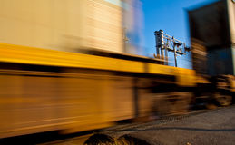 Passing Train Stock Image