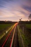 Passing train Royalty Free Stock Image
