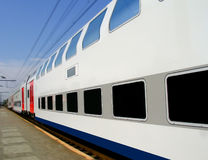 Passing train Royalty Free Stock Photography