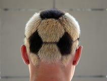 Passioné du football Photo stock