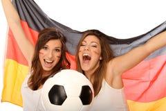 Passionés du football Images libres de droits