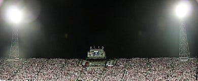 Passionés du football Photos libres de droits