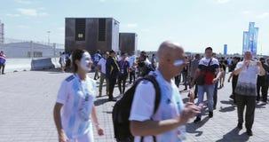 Passionés du football de l'Argentine clips vidéos