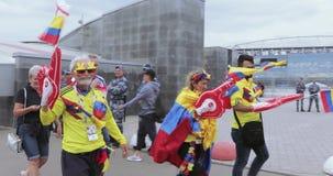 passionés du football de la Colombie clips vidéos