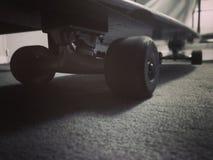 Passion av skateboarden Arkivbild