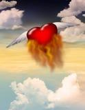 Passion brûlante illustration libre de droits
