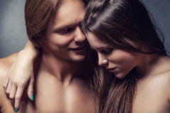 Passion couple Royalty Free Stock Images