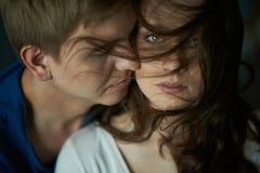 Passion d'amour Photos libres de droits