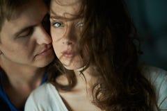 Passion d'amour Image libre de droits