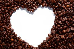 Passion de café Image libre de droits