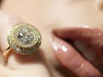 Passion de diamant image libre de droits
