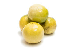 Passion Exotic fruit isolated Stock Photo