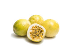 Passion Exotic fruit isolated Stock Photography