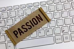 Passion för handskrifttexthandstil Begrepp som betyder den kraftiga känsliga sexuella dragningen för stark och obetvinglig sinnes fotografering för bildbyråer