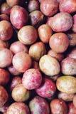 Passion fruit background Stock Photo