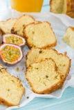 Passion Fruit Cake Stock Image