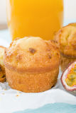 Passion Fruit Cake Royalty Free Stock Image