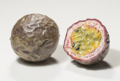 Passion Fruit Cross Section Stock Image