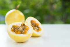 Passion fruit. Stock Photography