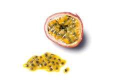 Passion fruit or granadilla Stock Images