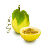 Passion Fruit isolated Stock Image