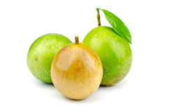 Passion fruit isolated Royalty Free Stock Photo