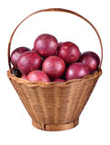 Passion fruit isolated on white background. Stock Image